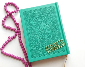 Mini Rainbow Qu'ran ~ Teal