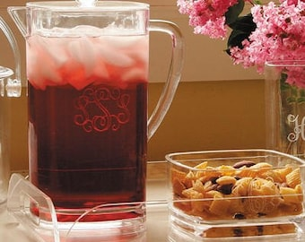 Heartstrings Personalized 2 quart PItcher