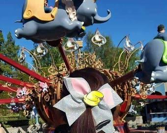 Dumbo the flying Elephant cheer bow