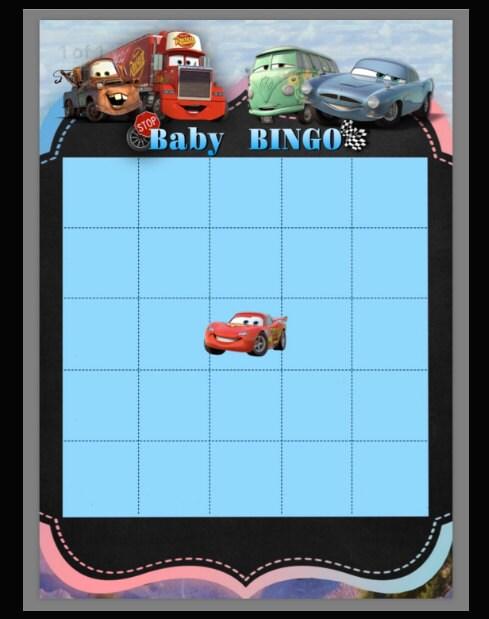 Baby, bingo, game, babyshower