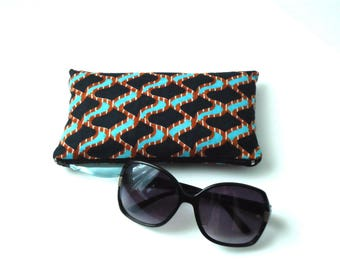 Wax padded glasses case