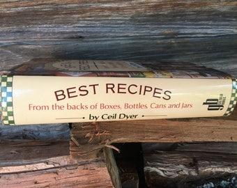Best Recipes Cookbook, Books Art Music Vintage Cookbook, Classic Recipes