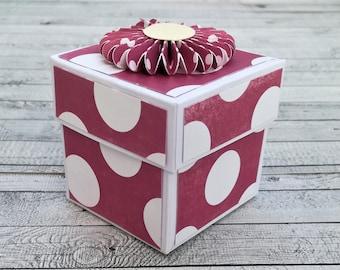 Box Pois Purple