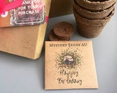 Happy Birthday Gift Pack Mystery Seeds, Flower gift