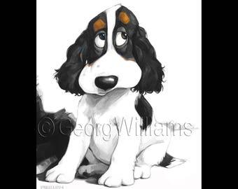 "Pet Portrait Giclee Print ""Aida"""