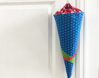 Primary Color Schultüte, First Day of School Bag / Cone, Ready To Ship