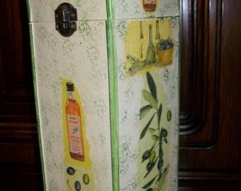 Bottle holder mothers day special olive oil