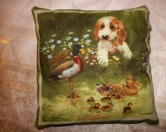 Small pillows dog 13 cm x 13 cm. NO. 3.