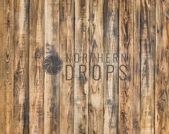 Product Photography Backdrop - RUSTIC KNOTTY WOOD - Rustic wood background - Brown knotty board photo backdrop - Rustic photography backdrop