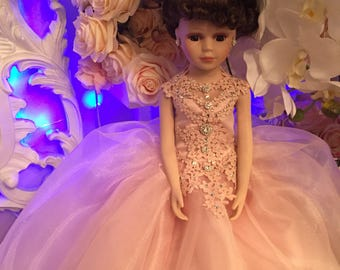 Quinceniera last doll blush pink