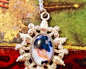 Audrey Hepburn Cameo Necklace