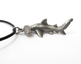 Hammerhead Shark Necklace - Hammerhead Pendant, Scuba Diving, Marine Biology, Shark Jewelry