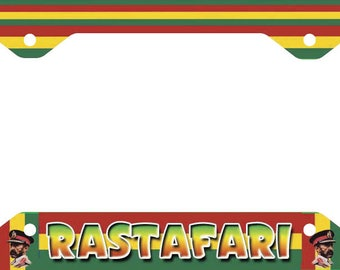 Rastafari License Plate Frame