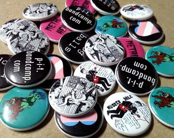 Custom Buttons - Your message here! 20 One-inch pins