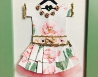 Pretty Cactus Paper Dress!
