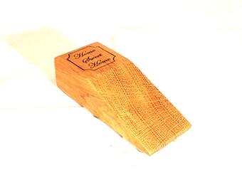 Solid Oak Door Stop/Wedge