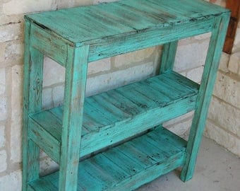 SALE Rustic Console Table for Entry Way and More!