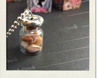 Necklace, spirit cabinet of curiosities - seashells