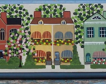 Charming Hand Painted Wooden Decor!