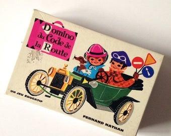 ON SALE Vintage domino - Fernand Nathan