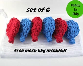 Crochet Water Balloons - Water Toys - Mesh Bag - Kids Gift - Summer Party- Birthday Party Favors - Pool Party - Eco Friendly - Kids Toys