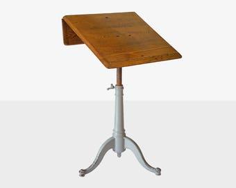 washburn shop cast iron drafting table, architecture drafting table, industrial drafting table, antique drafting table, washburn table