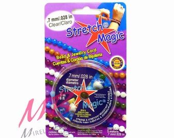 0.7 mm Stretch Magic Clear Beading Cord, 5 Meters