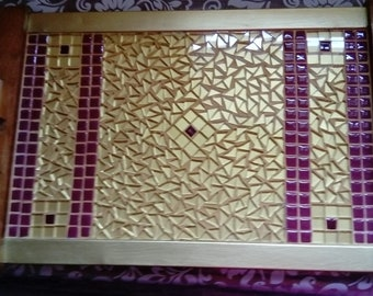 Mosaic repaints Heather tray