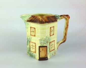 Keele Street Pottery Cottage Milk Jug / Creamer 1940s tableware