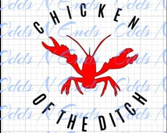 Chicken of the ditch SVG