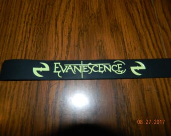 New- EVANTESCENCE Rubber wristband Bracelet/ one size fits most
