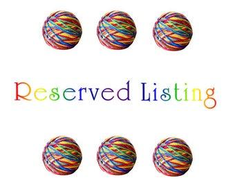 "RESERVED LISTING - 1 Boye 5 Loom Set + 3 Skeins of Charisma Heather ""Purple"" Bulky yarn"