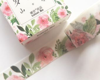 Roses Washi Tape 15mm x 7m