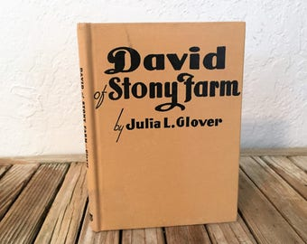 Vintage Book Titled David of Stony Farm