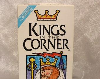 Vintage Kings in the Corner Strategy Game - Jax Ltd. 1996