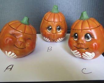 Pumpkin Box- Ceramic