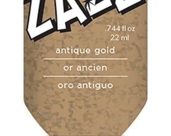 Glitter glue / glue Zazz old gold Glitter