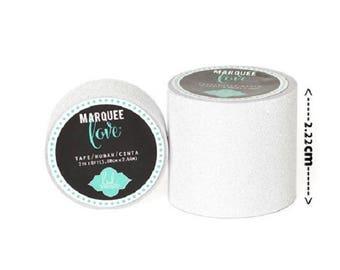 Masking tape / Washi tape fancy - bright white