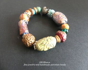 Bracelet Boho, pearl bracelet,