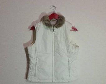 White Vest warm Vest~Small-Medium Size