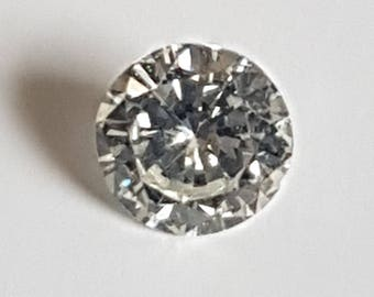 0.14ct SI Round Brilliant Cut Diamond G-H