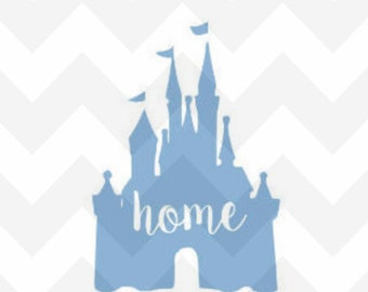 Princess Castle, Castle, Disney Castle, Princess, Castle Decal, Disney, Disney Decal, Disney Car Decal,  Disney Sticker,  Yeti Rambler