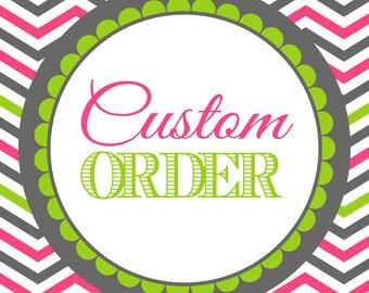 Custom Graphic Design Printable Order