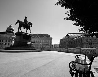 The Albertina in Vienna, Austria