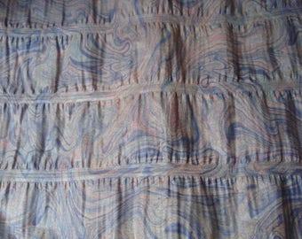 Glazed cotton chintz way / style Paisley print