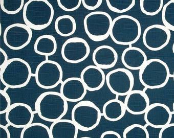 Navy Blue Valance.Window Treatments Valance. Blue  Ikat  Valance .Curtain Valance. Blue Window Treatment  Valance.
