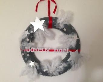 Crown hanging Christmas stars