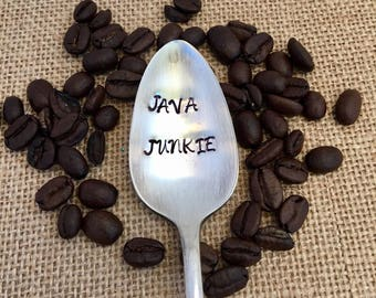Stamped Coffee Spoon