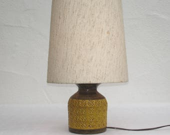 Vintage 70s J. Bitossi - Aldo Londi lamp table lamp