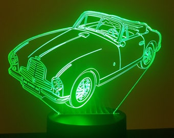 Lamp 3D pattern: Aston Martin